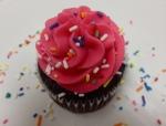 BIRTHDAY CAKE CUPCAKE!
